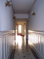 3rd Floor Hallway, looking towards the rear of the building