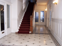 Front entrance stairs from the 2nd floor to the 3rd